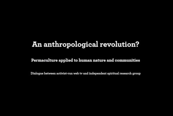 An anthropological revolution?
